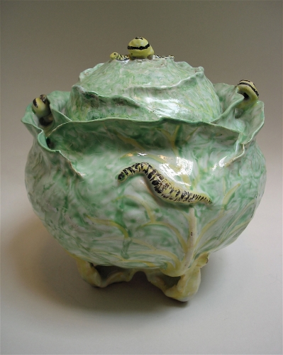 BRUSSELS CABBAGE TUREEN AND COVER
