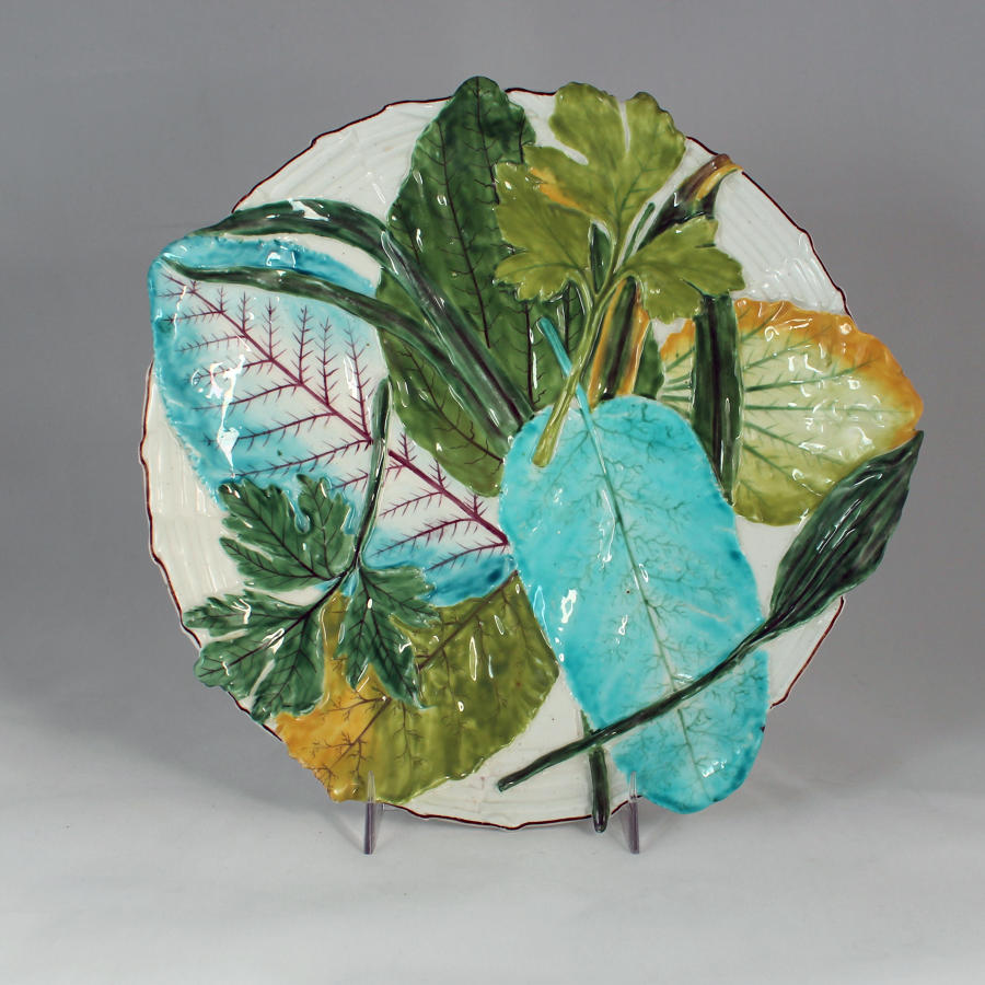 Chelsea overlapping leaf plate
