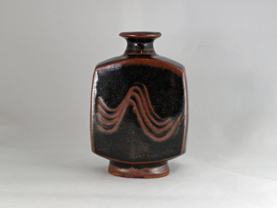 Bernard Leach, Classic Square Tenmoku Bottle