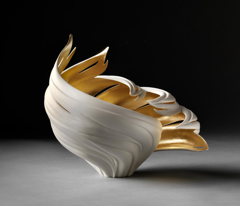 Jennifer McCurdy, Gilded Wind Vessel