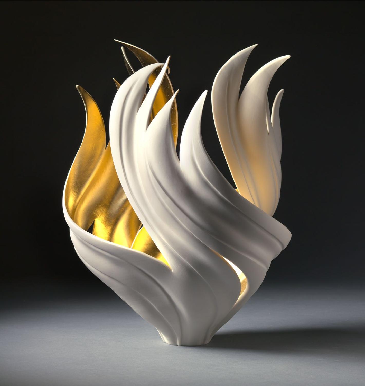Jennifer McCurdy, Gilded Torch Vessel
