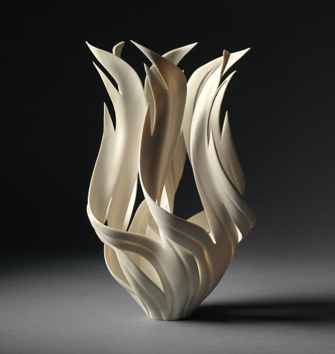 JENNIFER MCCURDY, FLAME TORCH VESSEL