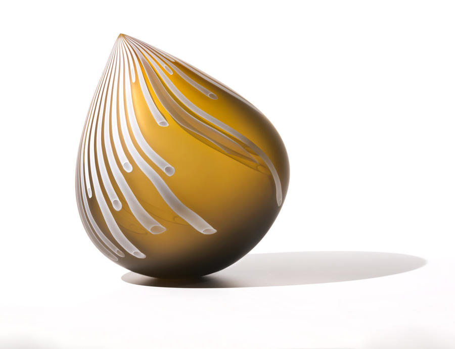 Nancy Callan, Painted Bronze Droplet