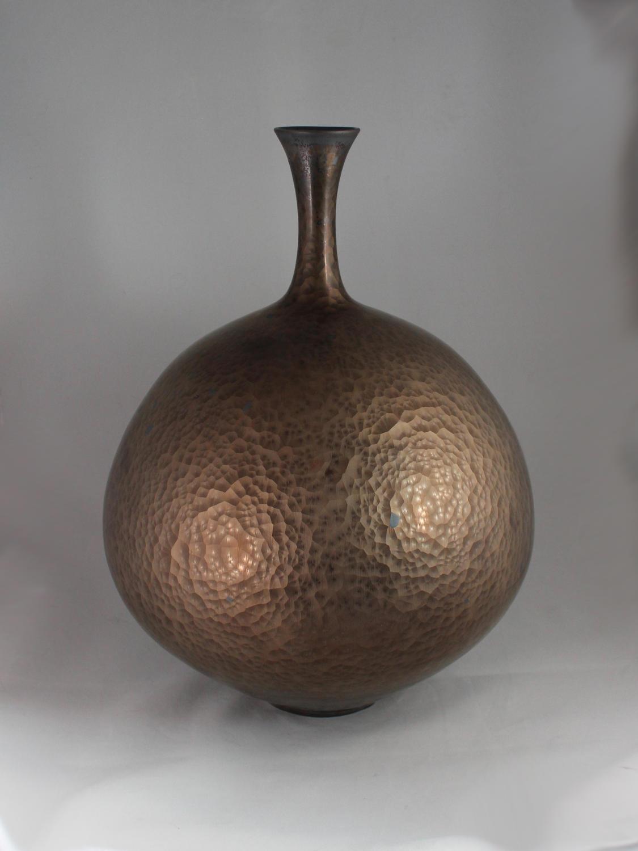 Hideaki Miyamura, Vase with Gold Glaze