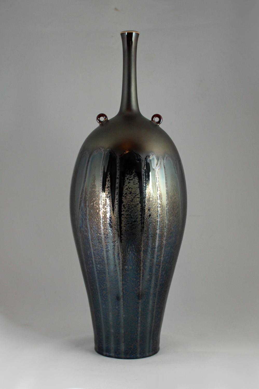Hideaki Miyamura, Vase with Two Rings