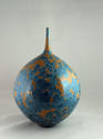 HIDEAKI MIYAMURA, BOTTLE WITH YELLOW CRYSTALLINE GLAZE - picture 3