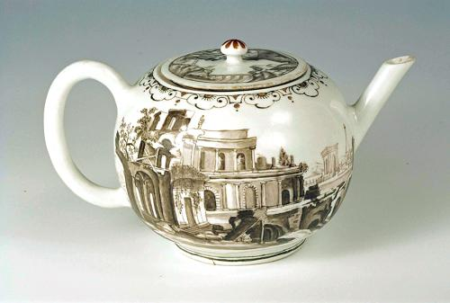 VIENNA DU PAQUIER TEAPOT AND COVER