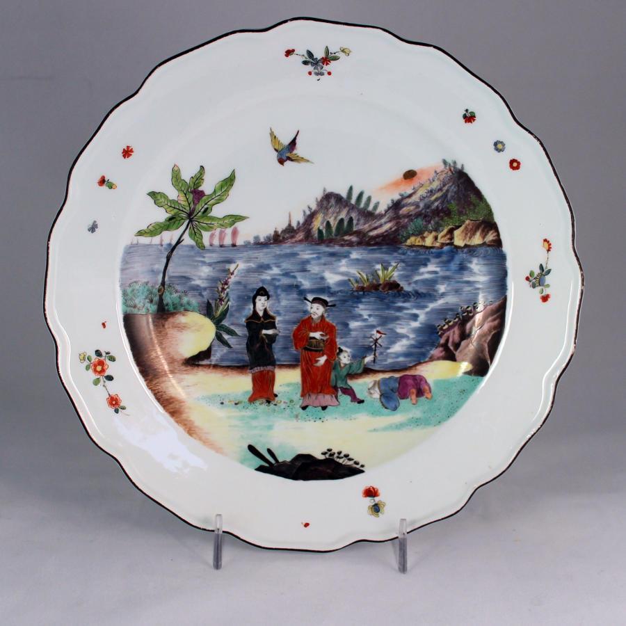 Meissen 'Earl of Jersey' plates