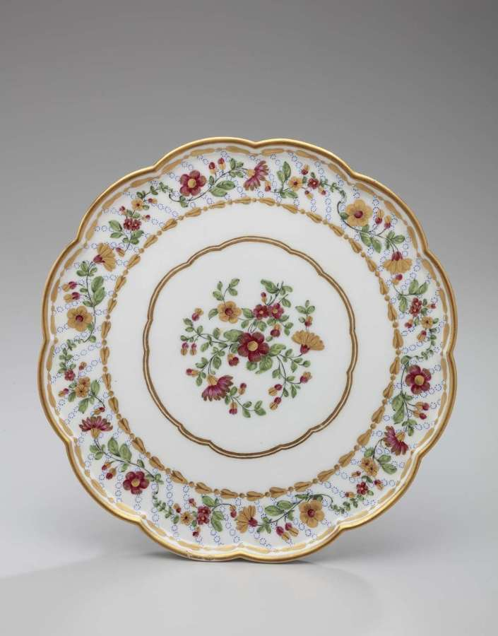 Sèvres footed tray