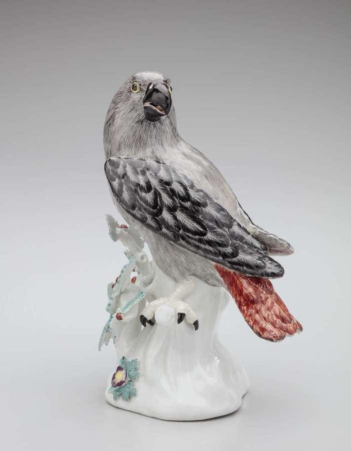 Meissen model of a parrot